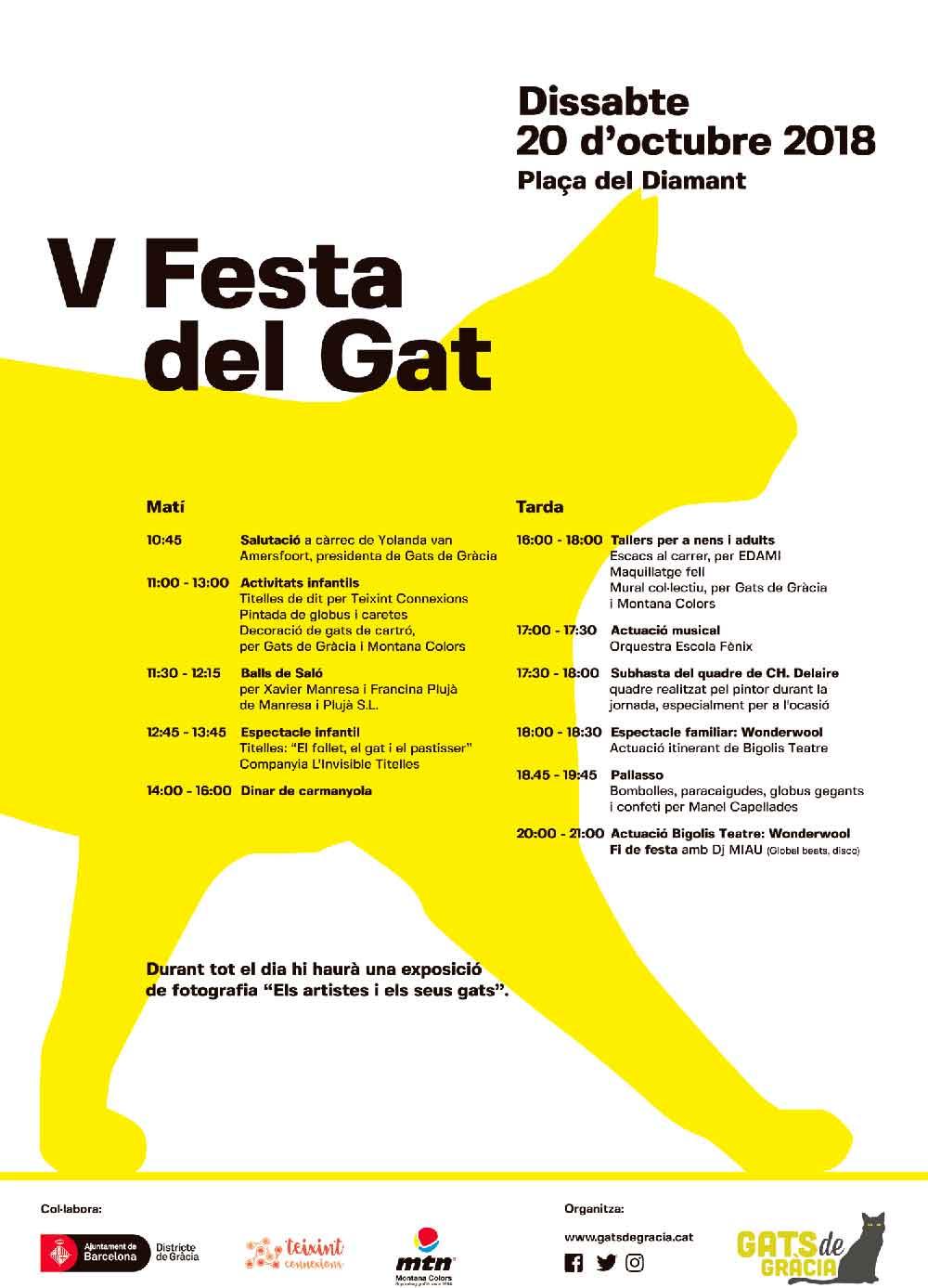 Festa dels Gats Gracia 2018